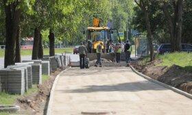 Pokyčiai Lazdynuose: tvarkoma aplinka ir infrastruktūra