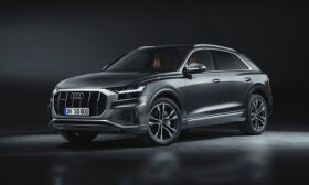 """""""Audi"""" parodė sportiškiausią Q šeimos modelį: turi V8 dyzelinį variklį ir visus vairuojamus ratus"""