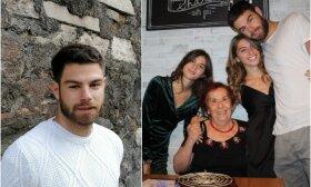 Edoardo Lucci su šeima