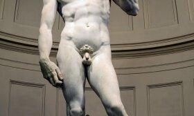 """Mikelandželo skulptūra """"Dovydas"""""""