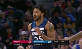 """""""Timberwolves"""" spurtui prikėlusio Rose\'o dėjimas"""