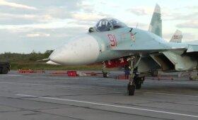 Netoliese Lietuvos sienos – Rusijos karinio oro laivyno oro pajėgų pratybos