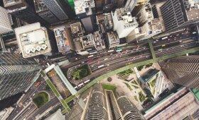 Kodėl įspūdingo dydžio dangoraižiuose paliekami tušti aukštai?