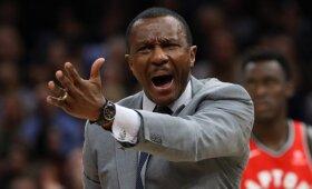 """Eilinį kartą """"Raptors"""" sirgalius nuvylusį trenerį kolegos išrinko geriausiu NBA"""
