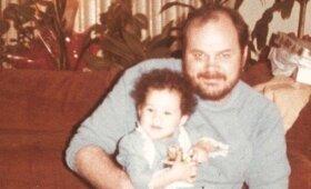 Meghan Markle su tėčiu