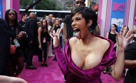 Cardi B tapo viena pagrindinių muzikos apdovanojimų MTV VMA's vakaro žvaigždžių