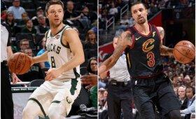 """Mainai NBA Rytų konferencijoje: Hillas sustiprino """"Bucks"""", Dellavedova grįžta į Klivlandą"""