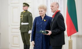 Egidijus Jarašiūnas ir Dalia Grybauskaitė