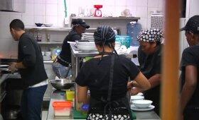 Kolumbijos moterų kalėjime atidarytas restoranas