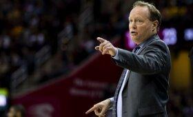 """Pagrindiniu """"Raptors"""" taikiniu laikytas Budenholzeris pasirinko darbą Milvokio """"Bucks"""" klube"""