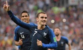 Pasaulio čempionato finalas: Prancūzija – Kroatija