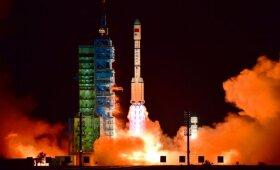 Kinijoje į erdves iškelta antroji kosminė stotis Tiangong 2
