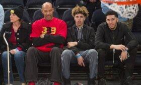 NBA naktis: Kawhi sugrįžimas ir Ballų šeimos šventę sugadinęs nesustabdomas Porzingis