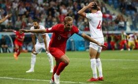 Pasaulio futbolo čempionatas: Tunisas – Anglija