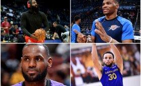 #PirmadienįPenktą: intriguojantis NBA elitas – Vakarų konferencijos lyderiai ir favoritai