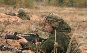 Mūšis Gaižiūnų poligone: rezervo karių baigiamos pratybos