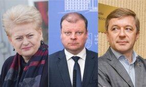 """""""Lietuvos įtakingiausieji 2017"""": politikų sąrašas"""