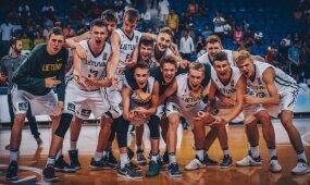 Europos jaunučių vaikinų krepšinio čempionato ketvirtfinalis: Lietuva - Juodkalnija