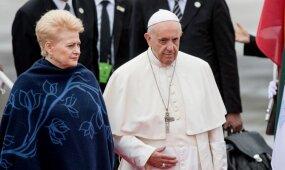 Popiežius Pranciškus – jau Lietuvoje