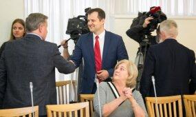LSDP frakcijos akibrokštas partijai ir G. Paluckui: bendradarbiavimas su valstiečiais išlieka