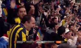 Nugalėti CSKA: Melli pirštų prisilietimas prie kamuolio tapo pergalingu