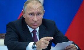 V. Putinas spaudžia Baltarusiją dėl Baltijos šalių