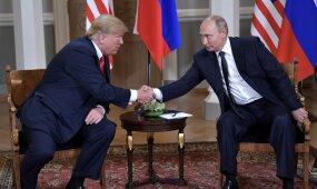 Trumpas po susitikimo su Putinu: aš manau, kad dabar mes einame teisingu keliu