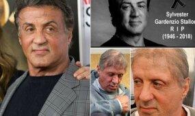 Feisbuke sklinda šiurpą keliančios nuotraukos ir gandas apie Sylvesterio Stallone mirtį