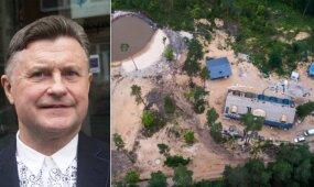 Smūgis A. Bosui: prabangų namą prašoma sulyginti su žeme