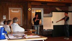 Verslumo stovykloje gimė moksleiviško verslo projektai