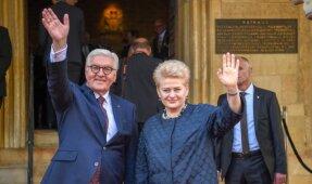 Prezidentė atsiima Vestfalijos taikos apdovanojimą'