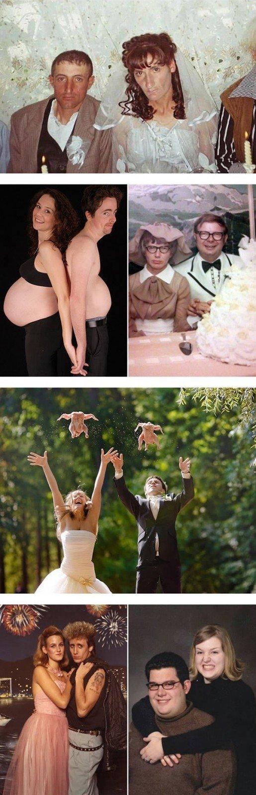 Žiauriai keistos porų nuotraukos, kurias pamatę jūs sapnuosite košmarus