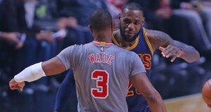 """Su """"Bulls"""" išsiskyręs D. Wade'as už """"centus"""" prisijungs prie L. Jameso?"""