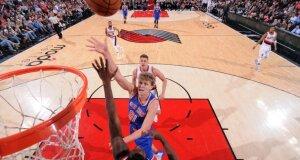 """Į """"Knicks"""" starto penketą sugrąžintas M. Kuzminskas sužaidė vienas geriausių savo rungtynių NBA"""