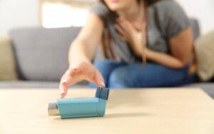 Sergantieji astma neretai patys kenkia savo gyvenimo kokybei