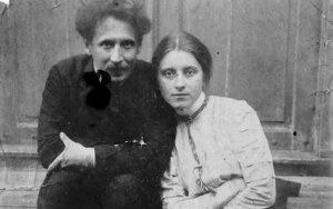 "M.K.Čiurlionis su Sofija   ""Tauras Films"" archyvas"