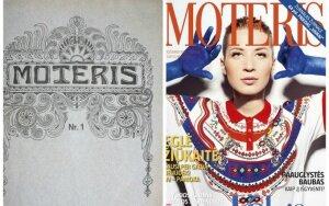 """Žurnalo """"Moteris"""" viršeliai: nuo vyro su kūdikiu ant rankų iki žymiausių moterų"""