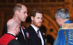 Princas Williamas broliui Harry'iui atsilygins tuo pačiu