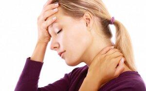 Galvos skausmai, svaigimas, galūnių tirpimas. Atsako gyd. neurologas