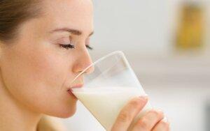 Ar visada pieną gerti yra sveika