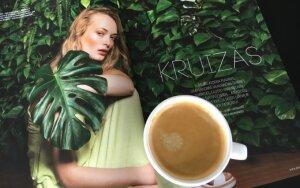 """Fotografuokite savo kavos puodelį su žurnalu """"Moteris"""" ir laimėkite """"Aroma Gold"""" kavos!"""