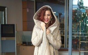 Indrė Launikonytė: galėčiau būti paltų karalienė