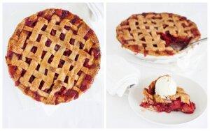 Amerikietiškas rabarbarų pyragas