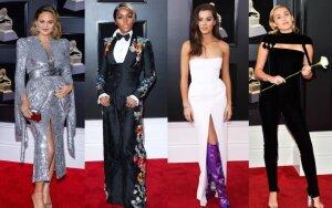 """10 ryškiausių stiliaus momentų """"Grammy"""" apdovanojimuose (FOTO)"""