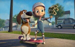 """Laimėkite kvietimus į filmą """"Didysis šunų pabėgimas""""!"""