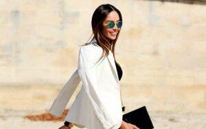 5 pavasariški būdai derinti baltus džinsus (FOTO)