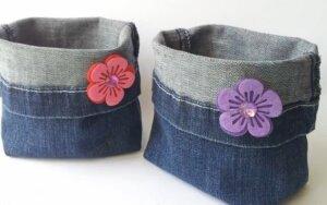 Kaip iš senų džinsų pasigaminti kai ką naudingo