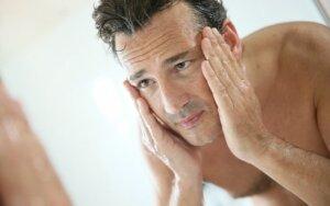 Vyriškos odos priežiūros ypatumai