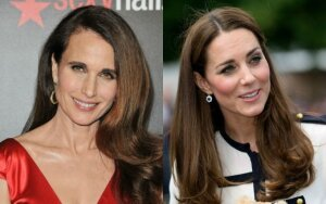 Andie MacDowell, Kate Middleton