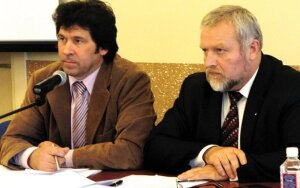 Sigitas Dimaitis ir Andriejus Stančikas